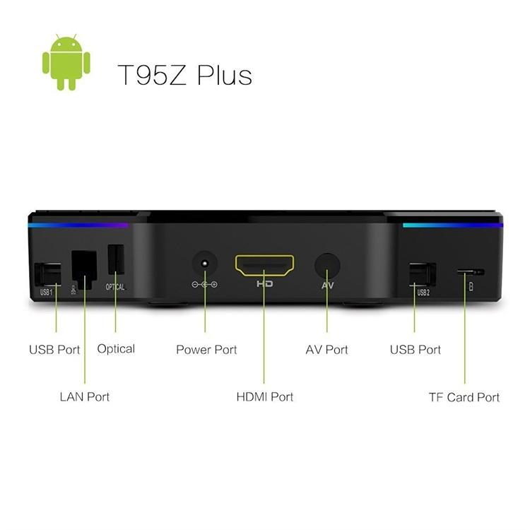 T95Z Plus 2gb/3gb ram 16gb/32gb rom 5 0G wifi BT4 0 internet