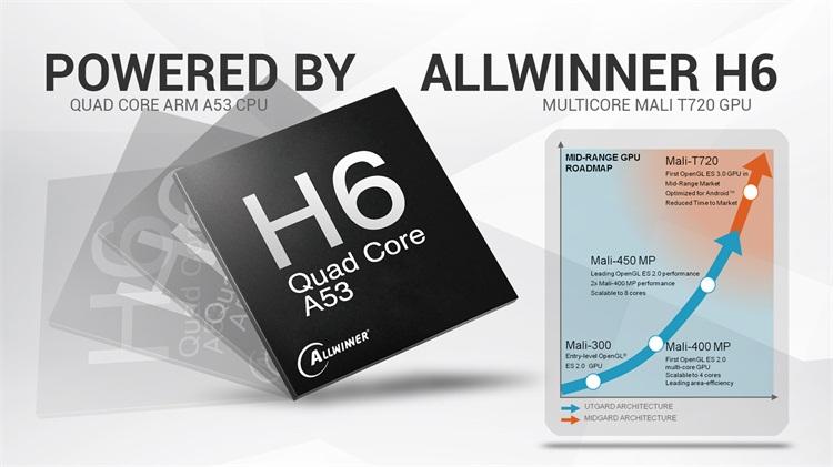 TX6 Allwinner H6 OTA auto update 2 4G/ 5G WIFI BT 4 1